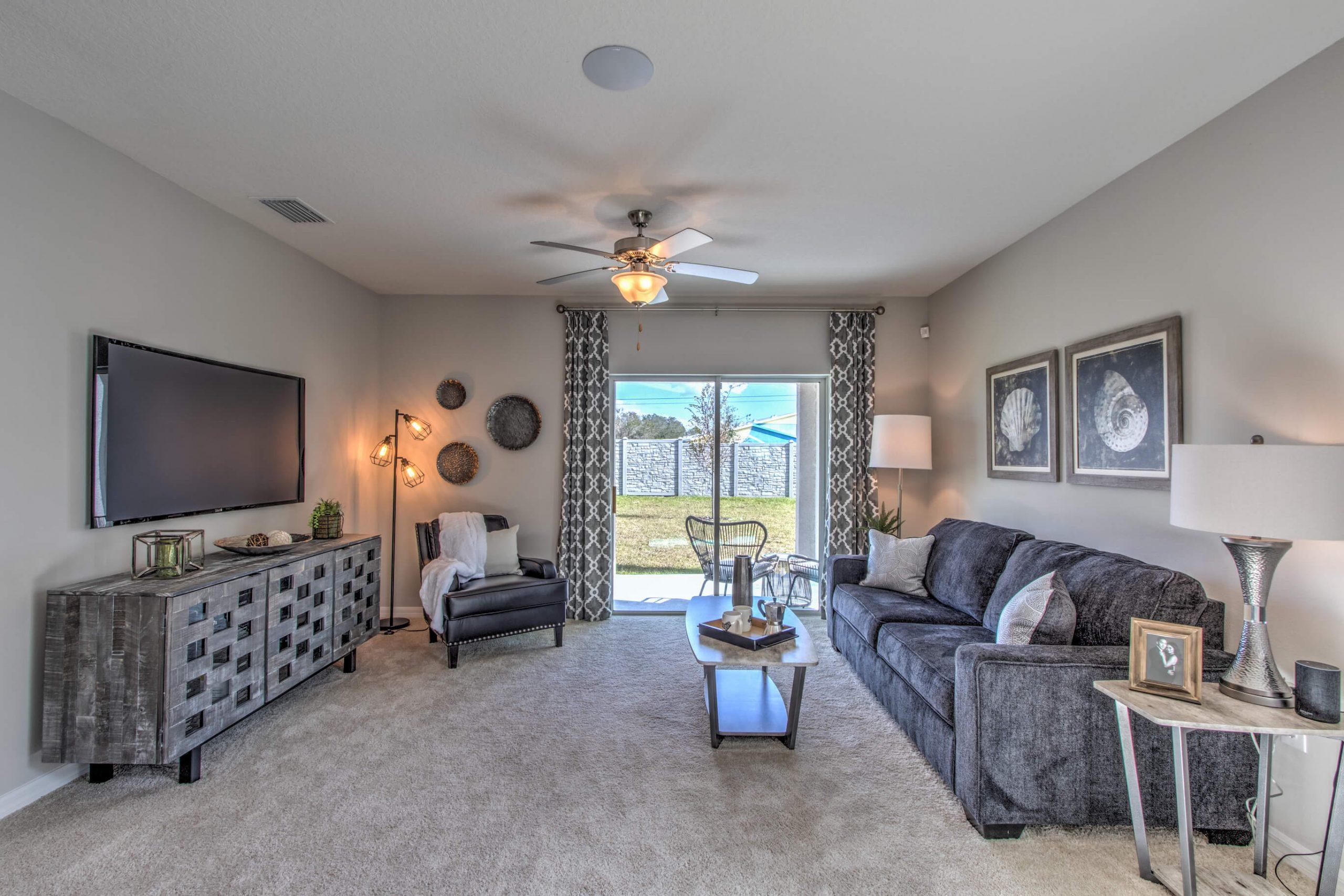 Robie Floorplan Living Area
